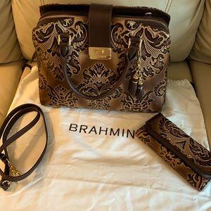 Brahmin purse/wallet